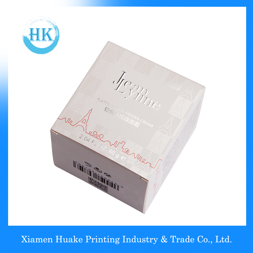 Packaging Cosmetic Creams Square Box For Personal Care